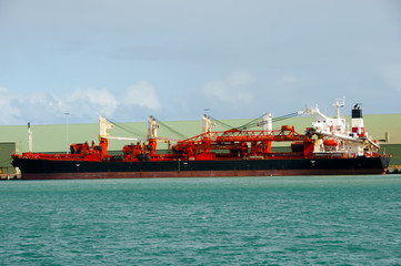 Self Discharging Bulk Carrier - Geraldton - Australia