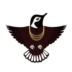 Beautiful designer bird logo