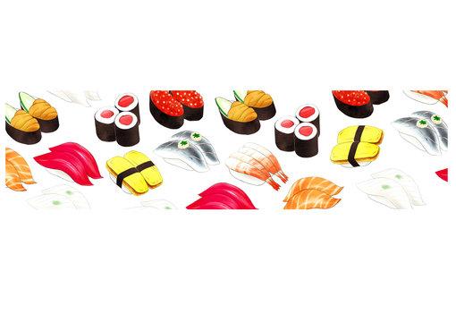 寿司バナー白