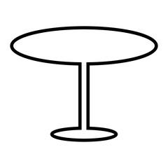 Table 1 Line vector icon