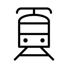 Train Tourism Travel Trip Journey Voyage Tour vector icon
