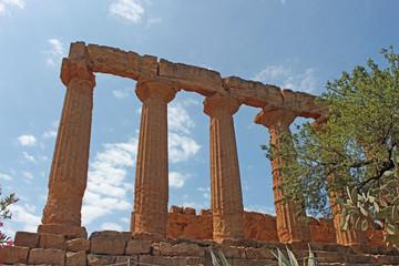 Sicile, site archéologique d'Agrigente