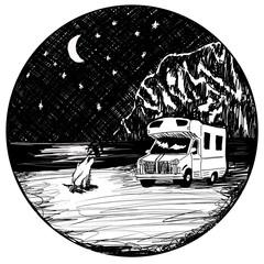Beach Camper I