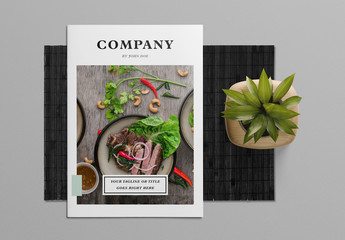 Light Green and White Brochure Layout