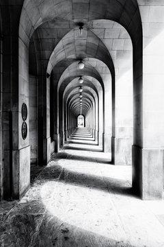 Shadowed Alley Way
