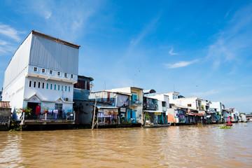 Mekong Delta Houses in Vietnam