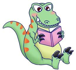 T-rex reading