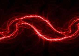 Hot plasma electrical lightning, energy wave