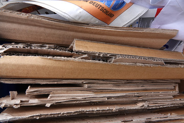 Verpackungsrecycling in der Sammelstelle