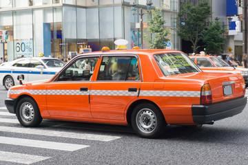 タクシー 東京 Fototapete
