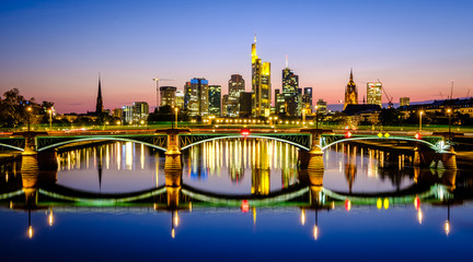 Frankfurt, Germany - Skyline