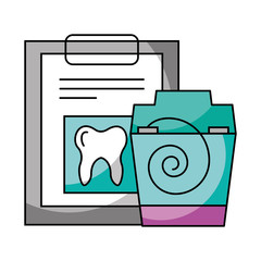 check up floos hygiene dental care