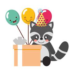 cute panda gift balloon kawaii birthday
