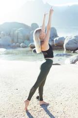 Yoga Girls on the Beach