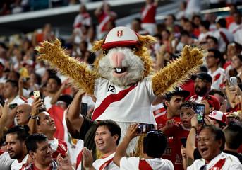 Soccer: International Friendly Soccer-Chile at Peru