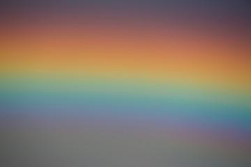 closeup of rainbow and sky