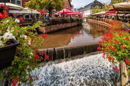Leukbachwasserfall in Saarburg
