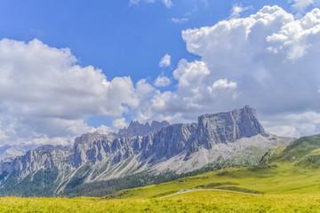 Dolomites Mountains Italy Cortina D'Ampezzo Giau Pass