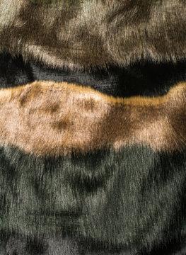 Various faux fur textures