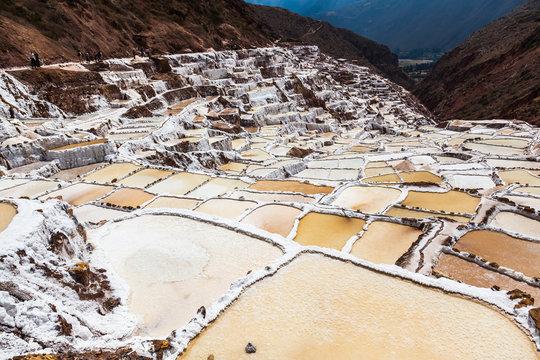 Evaporation pools in Maras