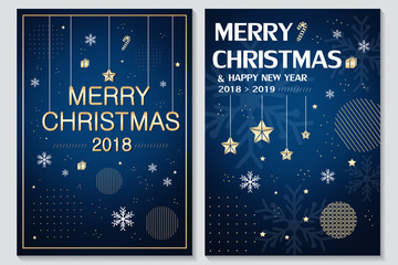 merry christmas and 2018