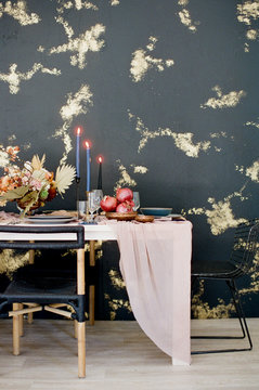 Modern Textured Wedding Details