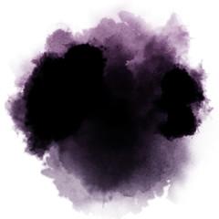 Fototapeta dark watercolor splash obraz