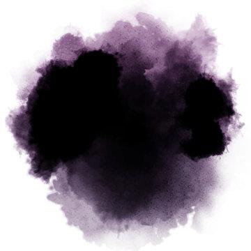 dark watercolor splash