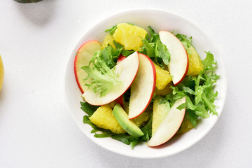 Fruit vegetable salad
