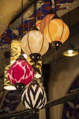 Decorative Lights At Grand Bazaar, Istanbul, Turkey