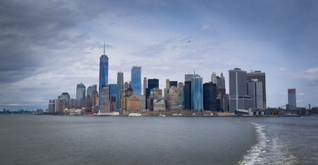Manhattan , New York, USA skyline