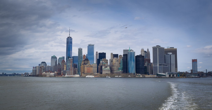 Manhattan , New York, USA skyline