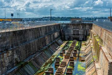 Impressionen aus Saint-Malo - Hafenanlagen