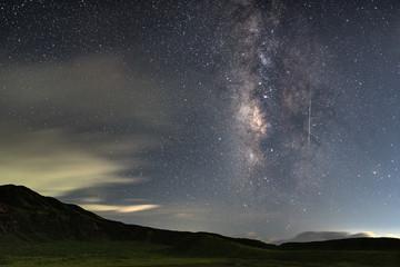 銀河の流れ