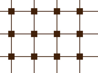 Repeating square shape vector pattern