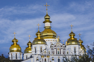 St. Michael's Golden-Domed Monastery in Kyiv, Ukraine