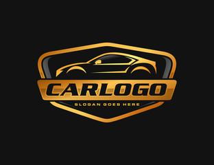 Obraz Automotive car logo template - fototapety do salonu