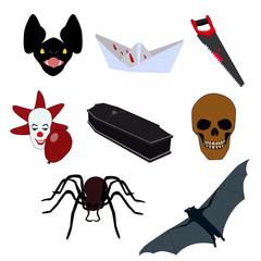 Halloween pictures set