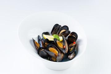 Marine New Zealand mussels