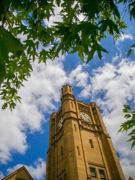 Melbourne University clock tower