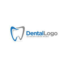 Dental, dentist logo template