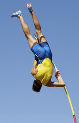 In pole vault event