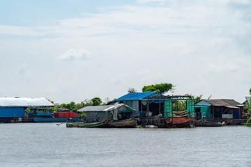 Siem Reap Lake - Siem Reap, Cambodia