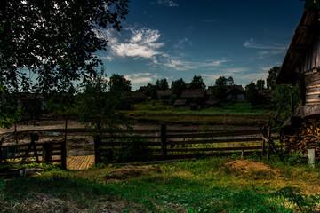 A beautiful rural landscape