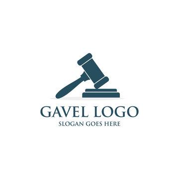 Gavel logo template