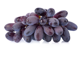Grape fruit isolated on white background.