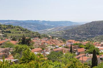 Arsos Village in the wine region of Cyprus