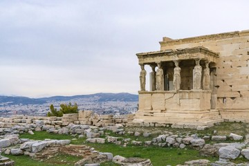 The Erechtheion on the Acropolis