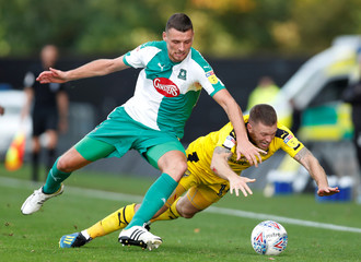 League One - Oxford United v Plymouth Argyle