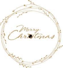 Decorazione Merry Christmas, augurio di buon natale